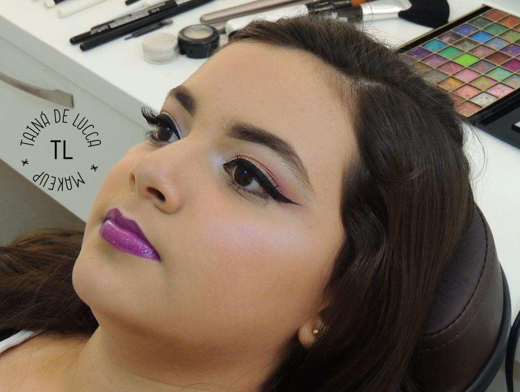 Maquiagem Teen! maquiador(a) esteticista designer de sobrancelhas