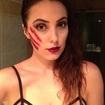 Maquiagem Halloween.