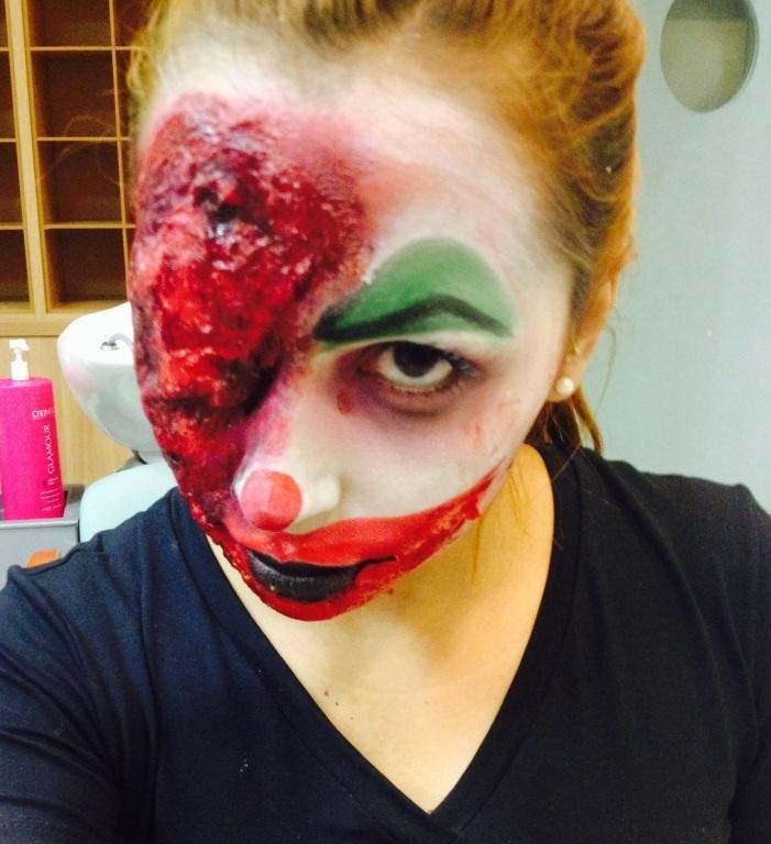 Maquiagem palhaço mal - Halloween  maquiador(a) designer de sobrancelhas