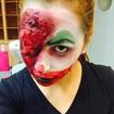 Maquiagem palhaço mal - Halloween