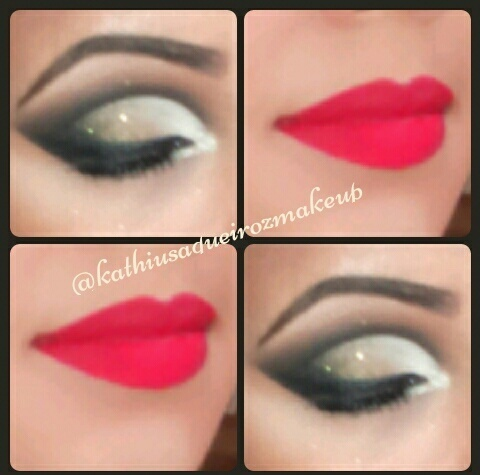 #cutcrease #maquiagem #makefesta #kathiusaqueiroz  maquiagem maquiador(a) designer de sobrancelhas consultor(a)