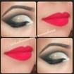 #cutcrease #maquiagem #makefesta #kathiusaqueiroz