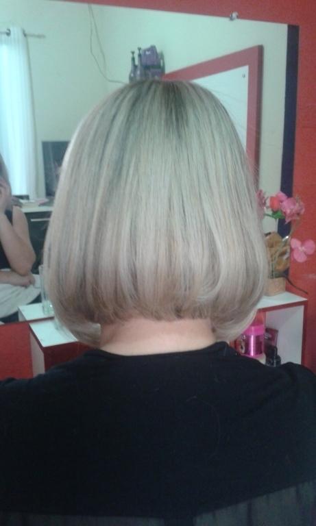 Trasformação .corte. luzes escova cabeleireiro(a) empresário(a)
