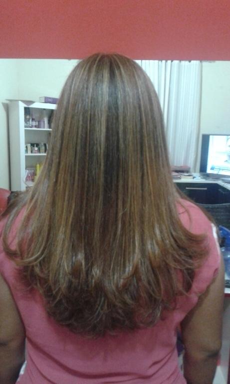 Mechas ,corte e escova cabeleireiro(a) empresário(a)