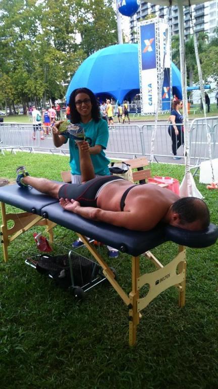 Maratona do Rio.  esteticista massoterapeuta depilador(a)