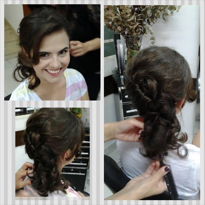#penteado #Make stylist / visagista cabeleireiro(a) maquiador(a) designer de sobrancelhas