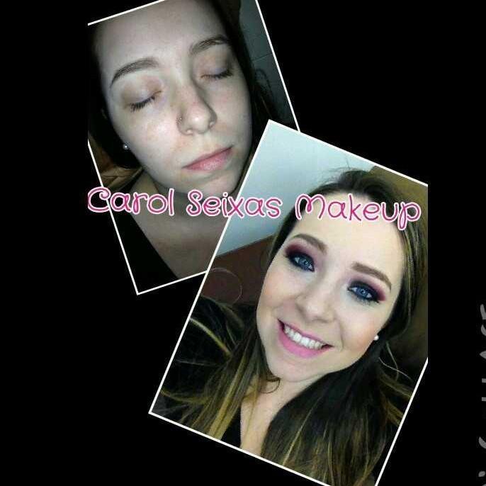 #makeup #carolseixasmakeup #ilovemyjob #ilovemakeup #casamento #wedding #noiva #noivinha  #madrinha #debutante #maquiagem #sobrancelhas #beleza #antesedepois maquiador(a) esteticista