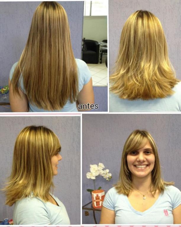 Mudar o visual é outra coisa!! long bob pra dar mais leveza  cabeleireiro(a) maquiador(a)
