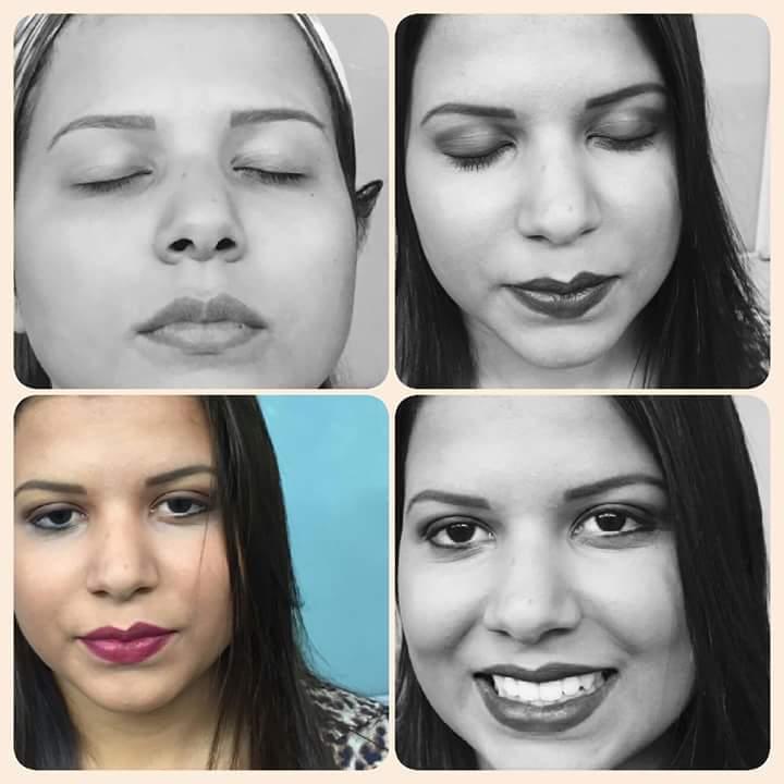 make up para foto preta e branca designer de sobrancelhas maquiador(a) depilador(a) micropigmentador(a) dermopigmentador(a)