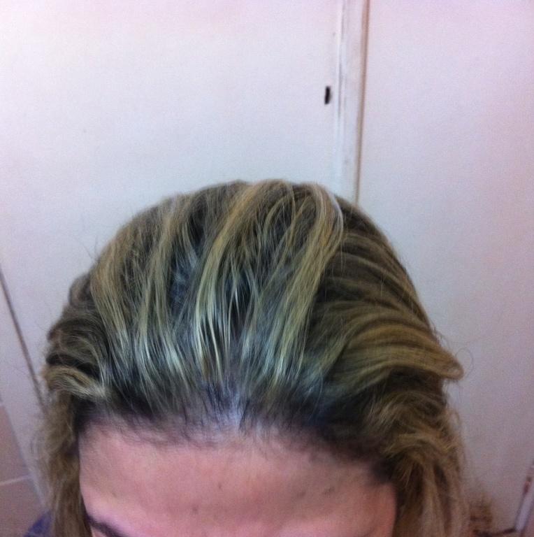 Correção de cor antes cabeleireiro(a)