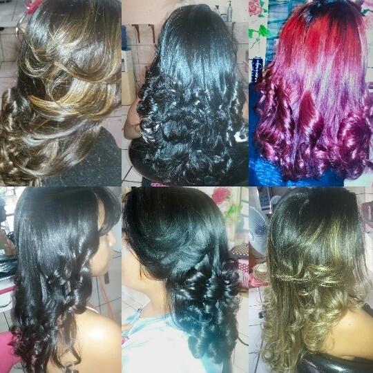 Luzes escovas cortes e coloração  cabeleireiro(a) maquiador(a) empresário(a)