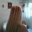 Alongamento de cabelo natural