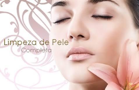 Limpeza facial esteticista depilador(a)