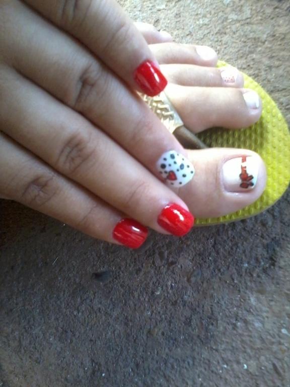 Delicada paixão  manicure e pedicure