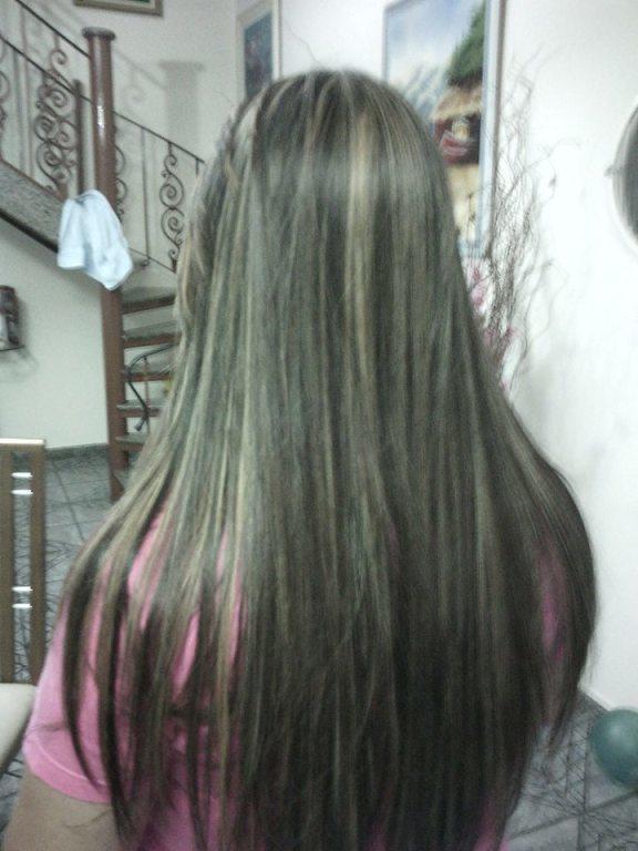 cabelo feito progressiva auxiliar cabeleireiro(a) recepcionista