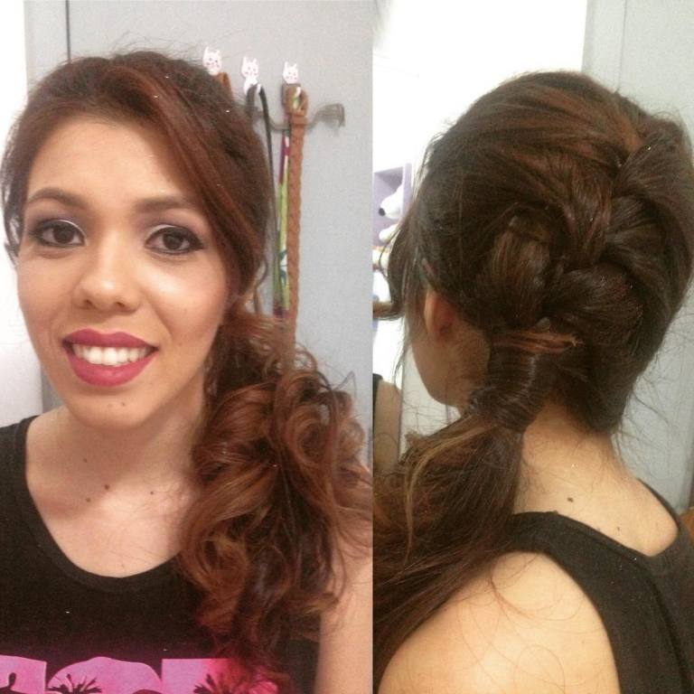 Penteado cabeleireiro(a)