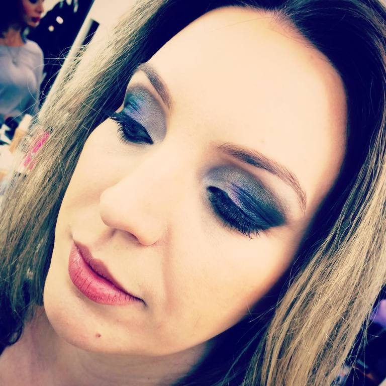 Olhão noite esfumado incrível! #makeup #makeupartist maquiador(a)
