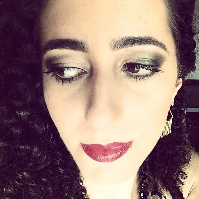 Make festa com bocão vermelho #makeup #makeupartist #lipstick maquiador(a)