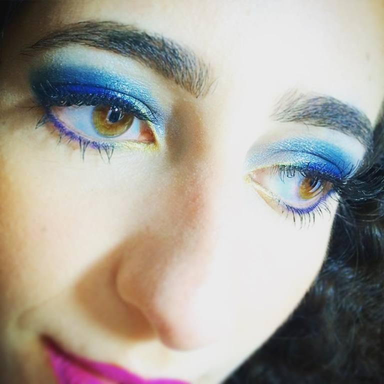 Make colorido #makeup #makeupartist maquiador(a)