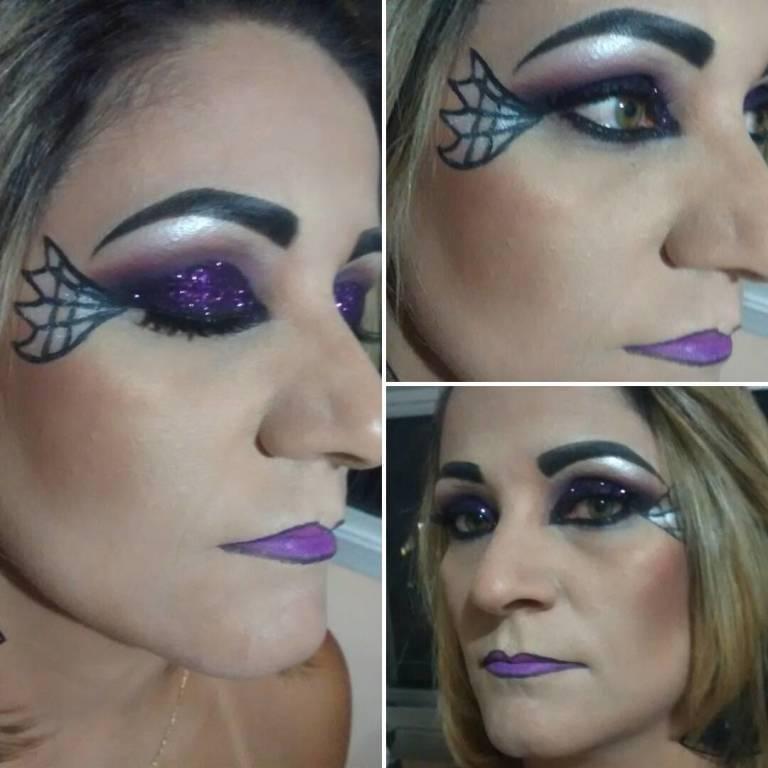 Make de Bruxa para festa de Hallowen maquiador(a)