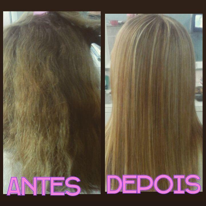 """#Progressiva realizada  #Studio Divas """"Patty Hair... cabeleireiro(a) depilador(a) consultor(a) maquiador(a) manicure e pedicure"""