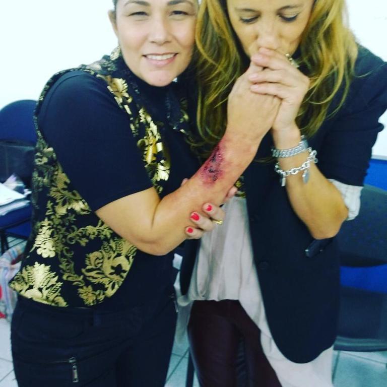 Hollywood makeup Lab BRUNA NOGUEIRA make up art Rosemary Leal maquiador(a) docente / professor(a)