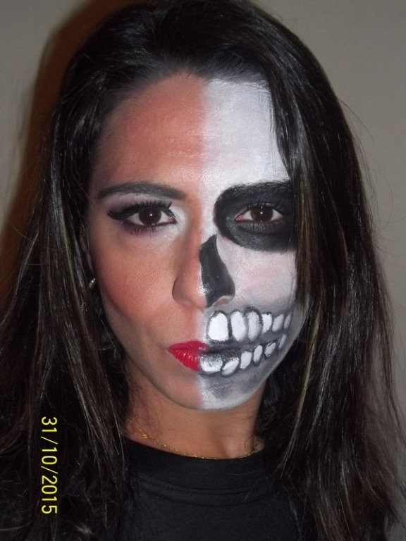 Evento Halloween Hotel Tulip - São Conrado - RJ. Festa Yelloween #makeupartist #makecaracterização #makehalloween  maquiador(a)