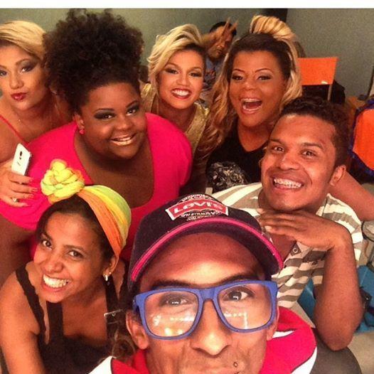 Gravação de abertura do programa Luck Ladies do canal Fox Life.  #makeupartist #makeupforever #luckladies maquiador(a)