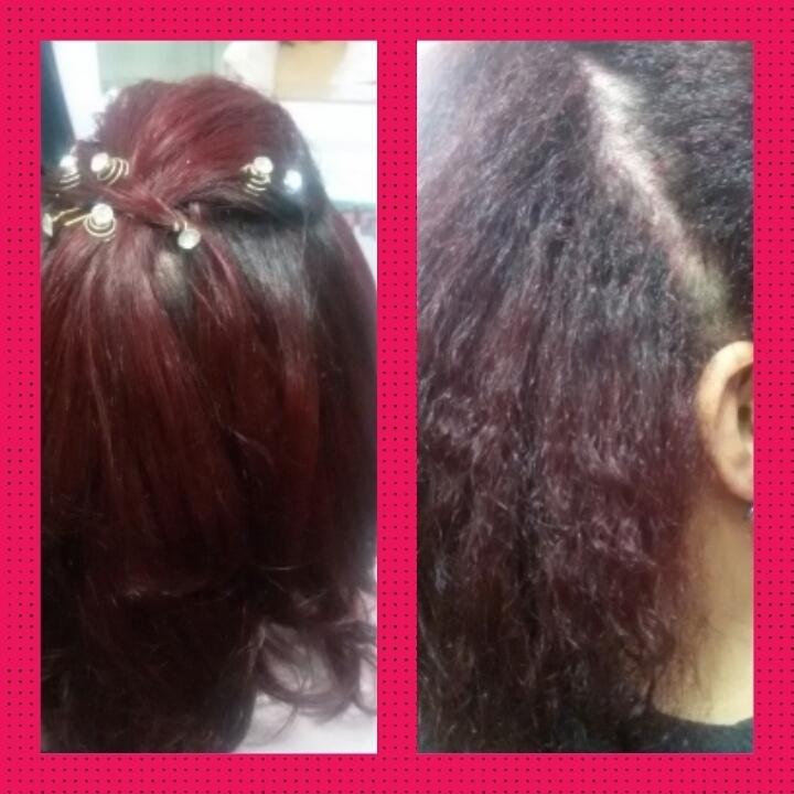 Progressiva sem relaxar cabeleireiro(a)