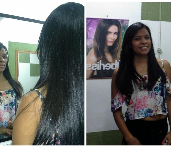 Selagem + Coloração cabeleireiro(a) designer de sobrancelhas maquiador(a)