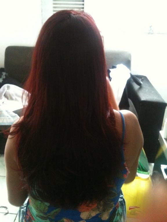 Coloração. estudante (cabeleireiro)
