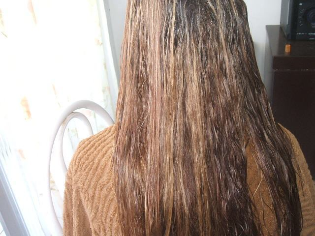 aqui fiz um choque de queratina  auxiliar cabeleireiro(a) escovista