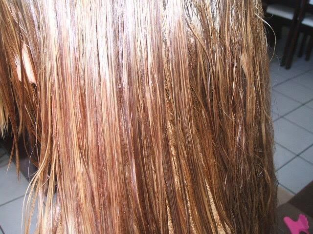 depois do choque de queratina! auxiliar cabeleireiro(a) escovista