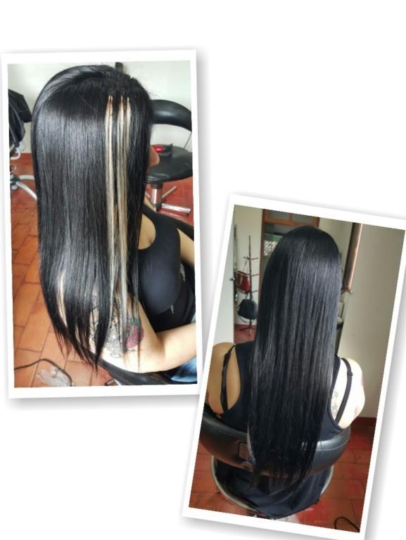 Pretinho básico na minha linda cliente Giselle 😍  #Tintura #2.0 #pretoliso #amomeutrabalho  auxiliar cabeleireiro(a)