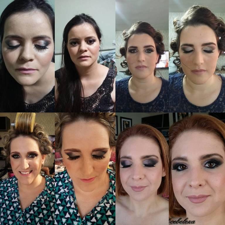 Madrinhas 😍 #makeup#maquiagem#dcebeleza#goiania#madrinha#casamento#make maquiador(a)