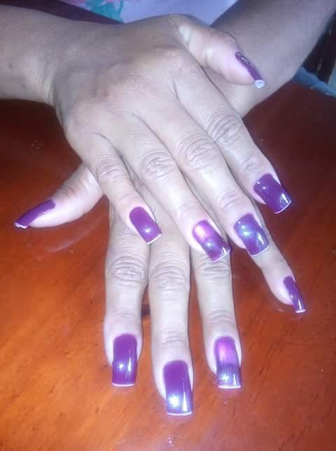 Alongamento sem gel manicure e pedicure