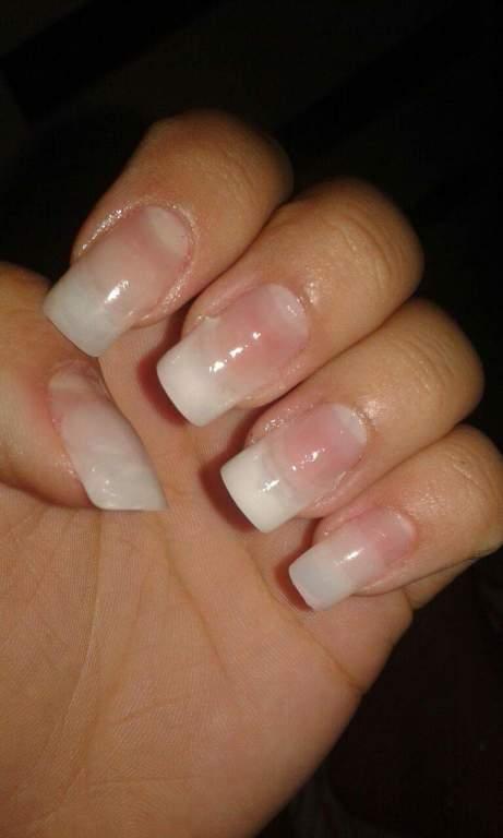 Alongamento com tip manicure e pedicure