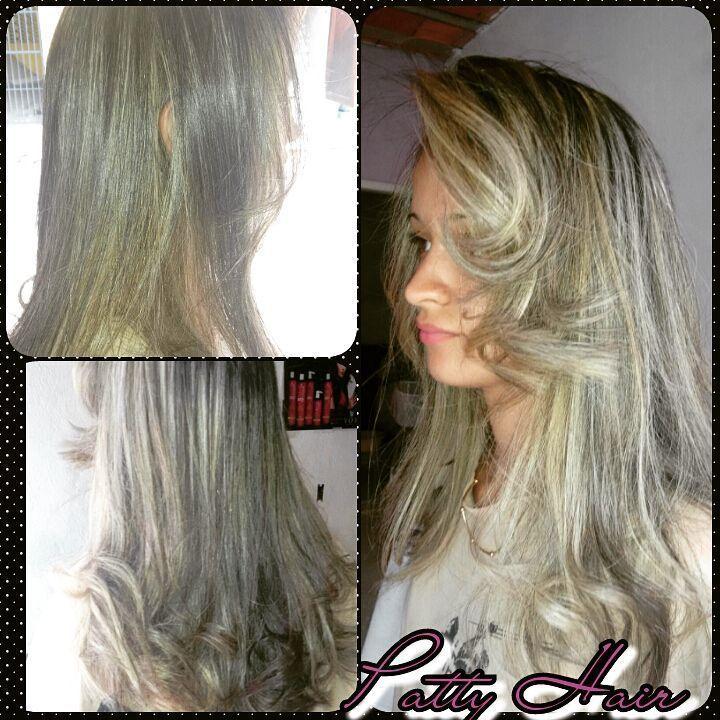#Studio Divas #Trabalho de hoje luzes e Reconstruçao mais uma Diva top cabeleireiro(a) depilador(a) consultor(a) maquiador(a) manicure e pedicure