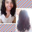 hum cabelo crespo que adorei fazer a transformação, ficou show. #HairPerfect  #YloveYou  #CachosLovers