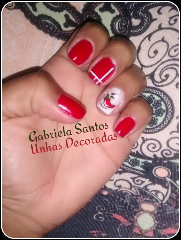Unhas Decoradas com filha única de #Pimenta #NailArt #Manicure/Pedicure #Decorada_a_Mão manicure e pedicure