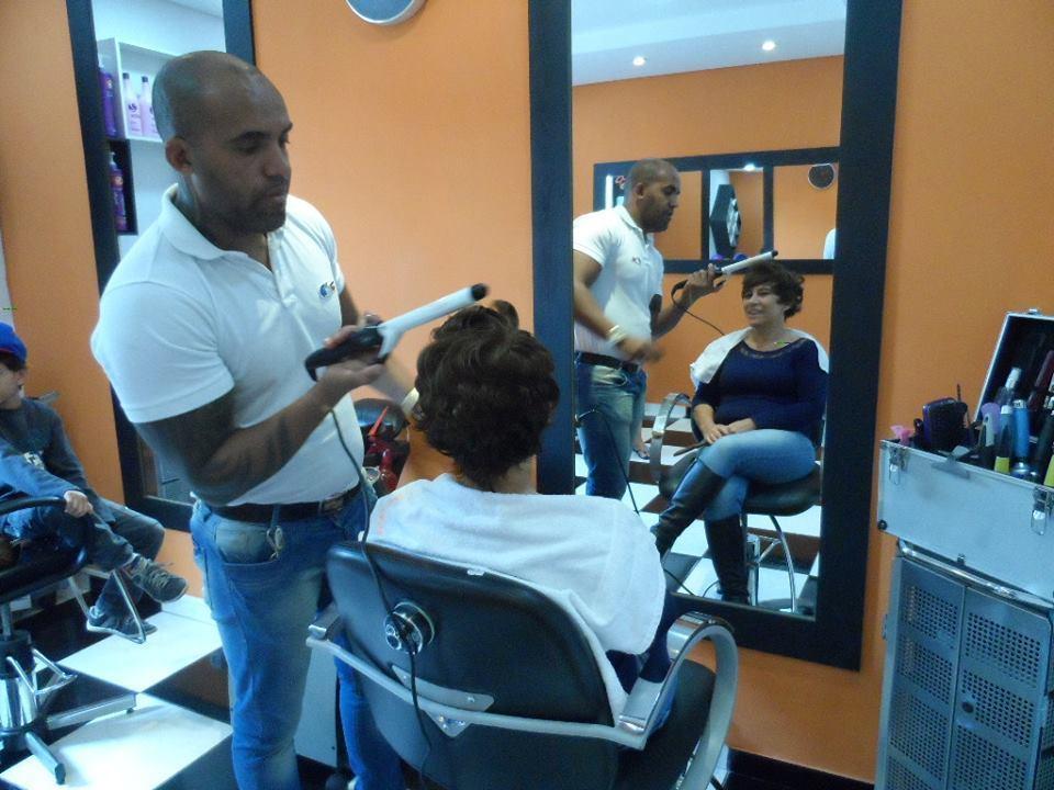 penteado  cabeleireiro(a) barbeiro(a)