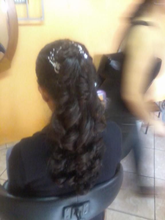 Penteado estudante (visagista) cabeleireiro(a)