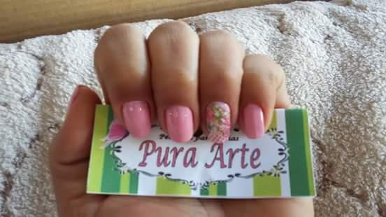 Alguns dos meus trabalhos..  Nosso mundo um pouco mais #Rosa manicure e pedicure