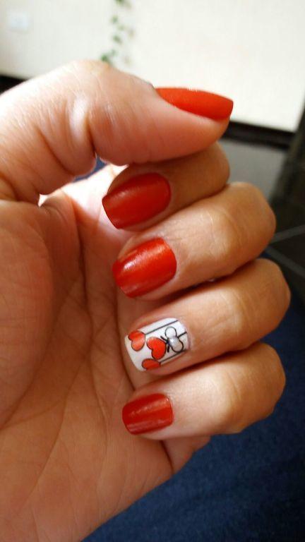 Seja #ousada, seja #desejo, seja #Vermelho!! manicure e pedicure