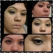 Eu treinando... #makeup #maquiagem