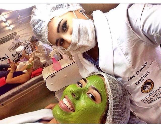 Tratamentos Estéticos Faciais! #limpezadepele  #laraorsariane estudante (esteticista) maquiador(a) designer de sobrancelhas