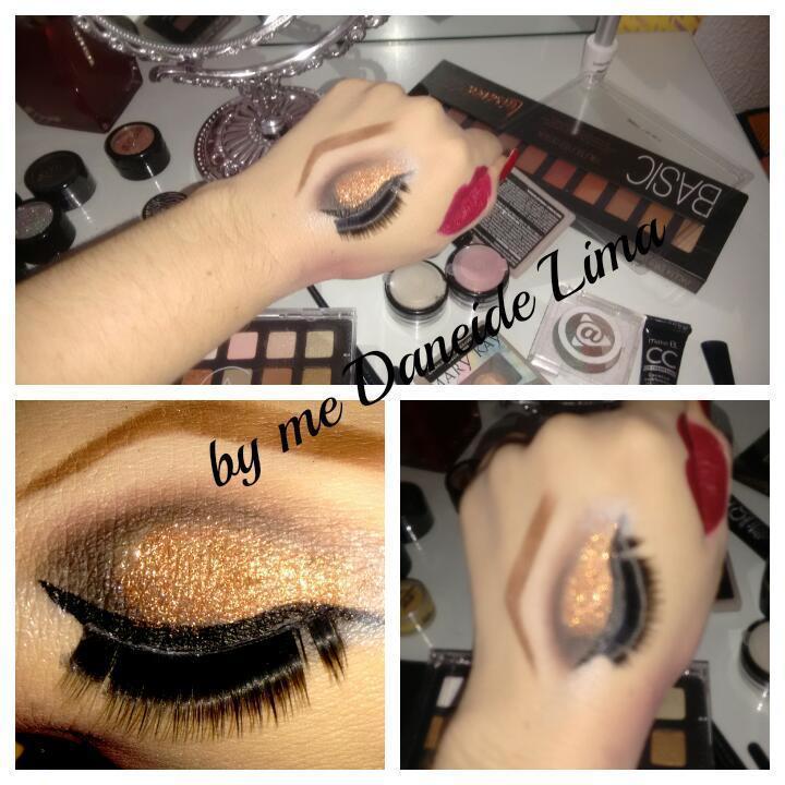Croqui de mão- preto com dourado dermopigmentador(a) designer de sobrancelhas maquiador(a)
