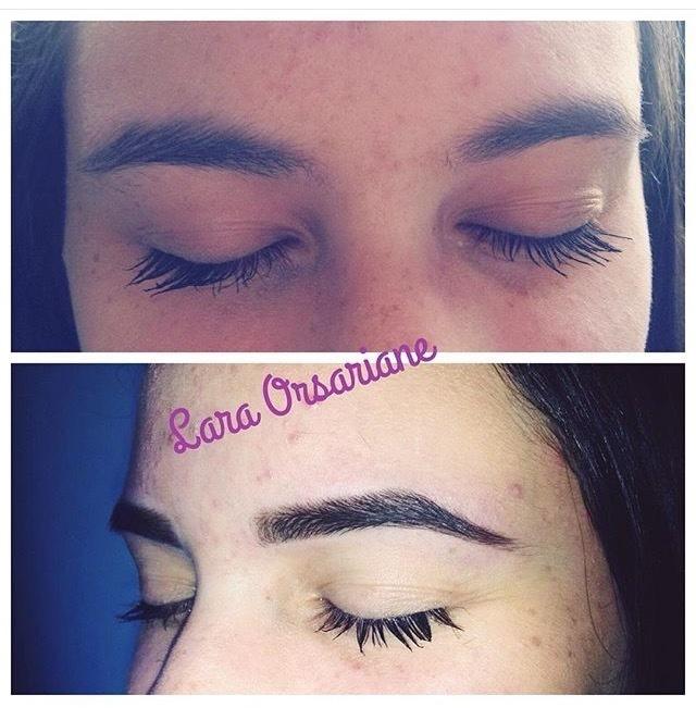 estudante (esteticista) maquiador(a) designer de sobrancelhas