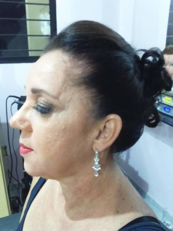 #madrinhadecasamento #makeup #make #penteado cabeleireiro(a) maquiador(a) designer de sobrancelhas