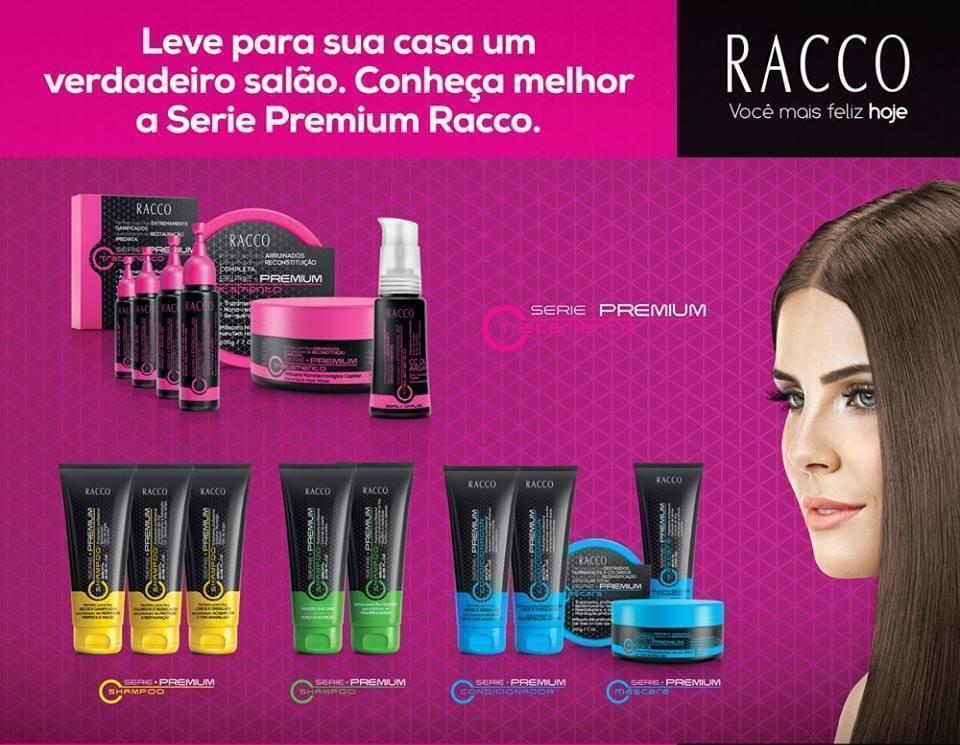 Racco / Linha Capilar / Cabelos  distribuidor(a) consultor(a) revendedor(a)